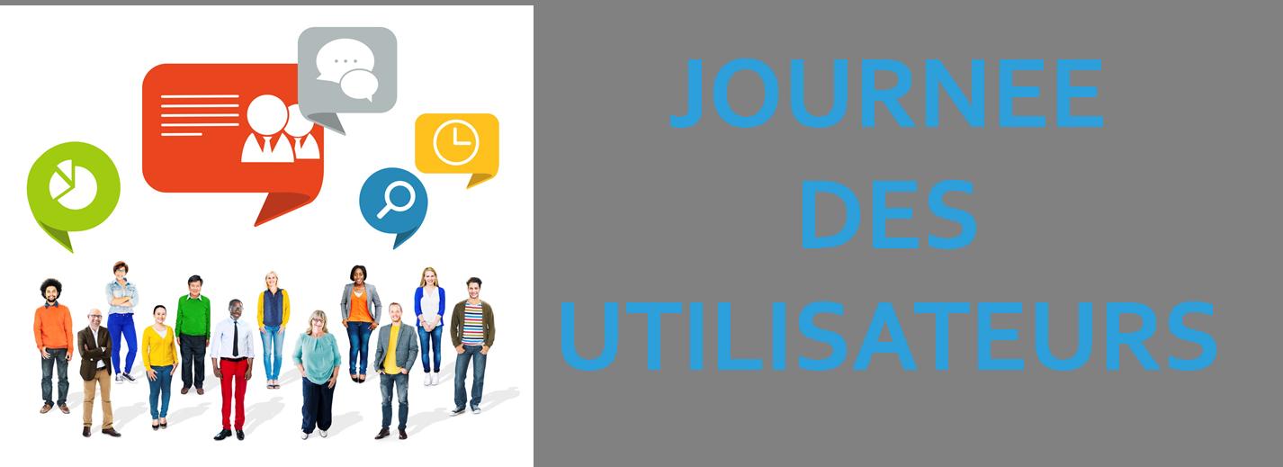 """""""JOURNÉE DES UTILISATEURS"""" le mercredi 14 décembre 2016"""