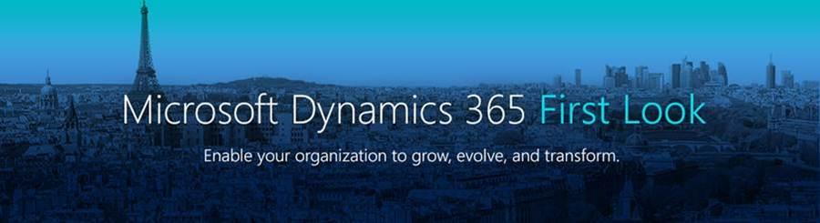 Microsoft Dynamics First Look le jeudi 1er décembre de 18h à 20h